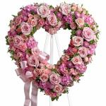 Reference #  91238 As shown $ 239.99  Pink and white flowers such as roses, stock, carnations and more